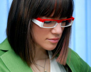 Bob Haircut For Girls With Glasses
