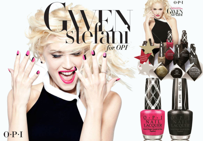 Gwen Stefani x OPI Nail Polish Line Is In The Works