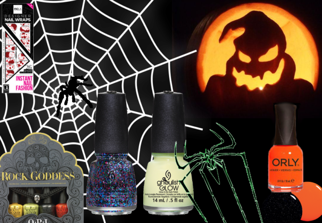 Halloween 2013 Nail Polishes and Stickers