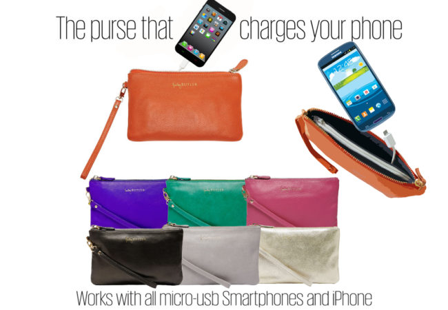 Mighty Purse – The Purse that Charges Cell Phones