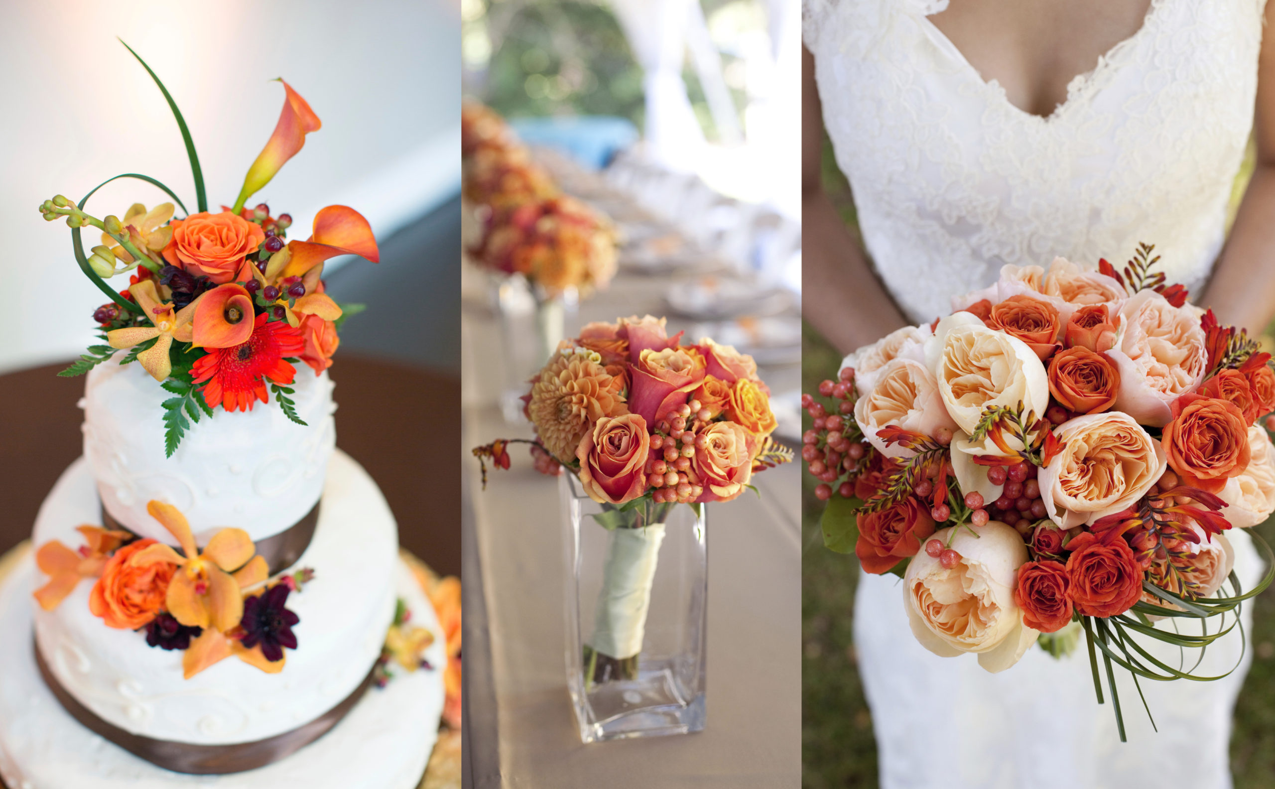 Orange Wedding Color For Fall