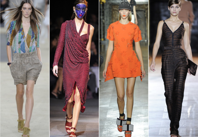 PFW Spring 2014 Trends: Relaxed Silhouettes and Japanese Influences