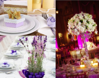 Purple Wedding Color For Fall