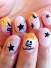 Pumpkin King Halloween Nail Art