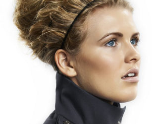 Windy Weather Updo Hairstyle