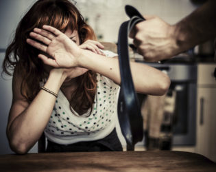Woman In Abusive Relationship