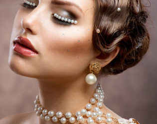 20s Wedding Hairstyle
