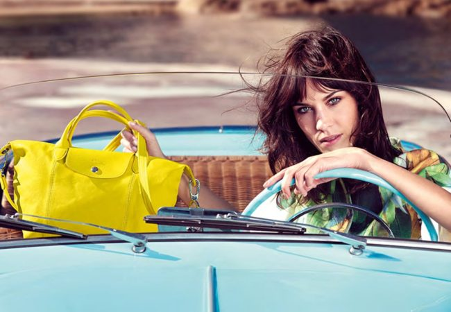 Alexa Chung for Longchamp Spring/Summer 2014 Campaign