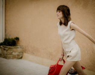 Alexa Chung For Longchamp Summer 2014 Campaign