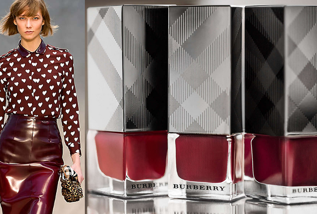 Burberry Fall/Winter 2013-2014 Nail Polishes