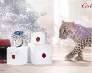 Cartier Holiday 2013 Campaign
