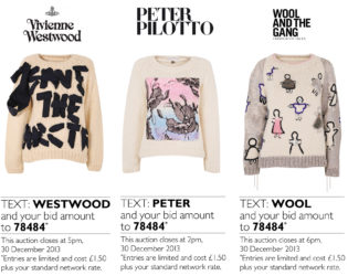 Christmas Sweaters Auction For Save The Children
