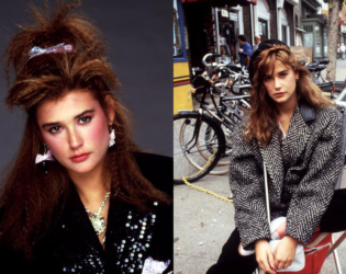 Demi Moore 80s Style