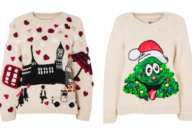 Designers Create Christmas Sweaters for Save the Children Organization