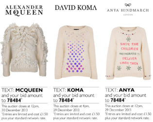 Designers Create Christmas Sweaters Auction