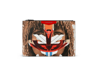 Givenchy Spring 2014 Printed Clutch