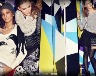 H M Holiday 2013 Campaign Looks