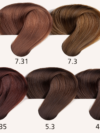 Hair Shade Palette