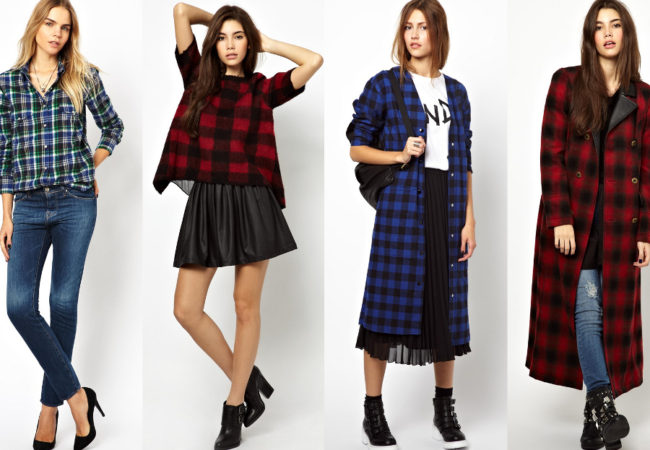Tips on How to Wear Plaid