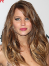 Jennifer Lawrence Long Hairstyle With Bangs