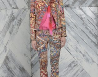 Just Cavalli Pre Fall 2014 Printed Outfit