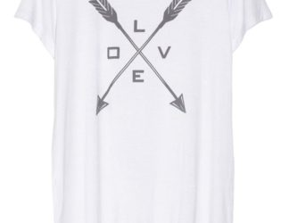 Net A Porter The Hunger Games Capitol Couture White Tee