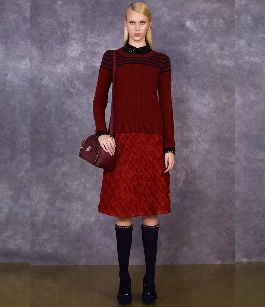 Tory Burch Pre Fall 2014 Collection Look  (10)