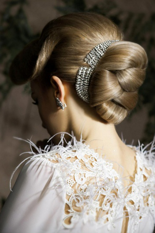 Wedding Low Knot Hairstyle