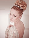 Ballerina Bun Wedding Hairstyle