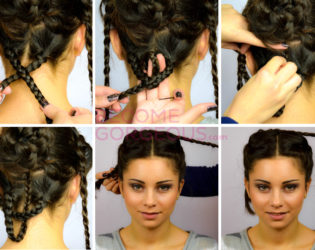 Catching Fire Bridal Updo
