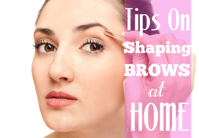 How to Shape Your Own Eyebrows