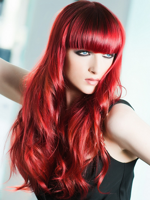 Fiery Red Hair Color