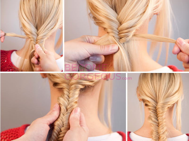 Brilliant Pictures Fishtail Braid Tutorial Step By Step With Video Schematic Wiring Diagrams Amerangerunnerswayorg