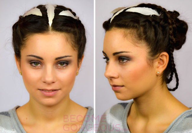 Katniss Everdeen Wedding Updo Tutorial – Video