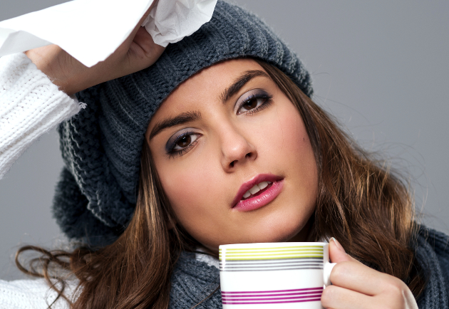 Makeup Tips to Hide Flu Symptoms