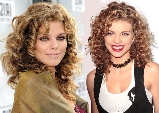 10 Celebrities with Naturally Curly Hair