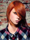 Orange Red Hair Color