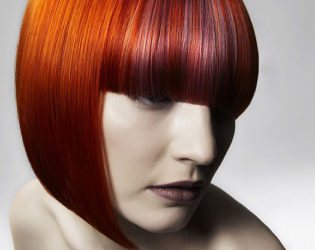 Tangerine Hair Color