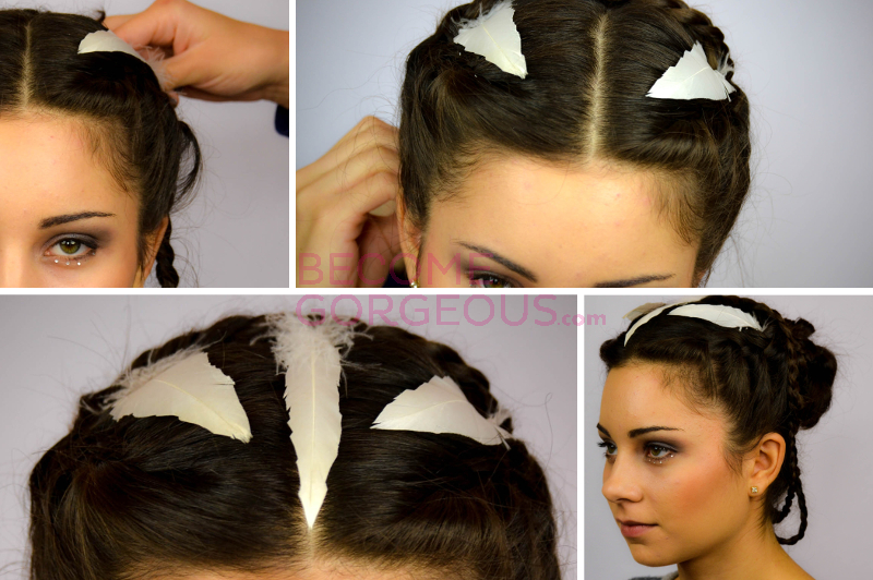 The Hunger Games Wedding Hairstyle