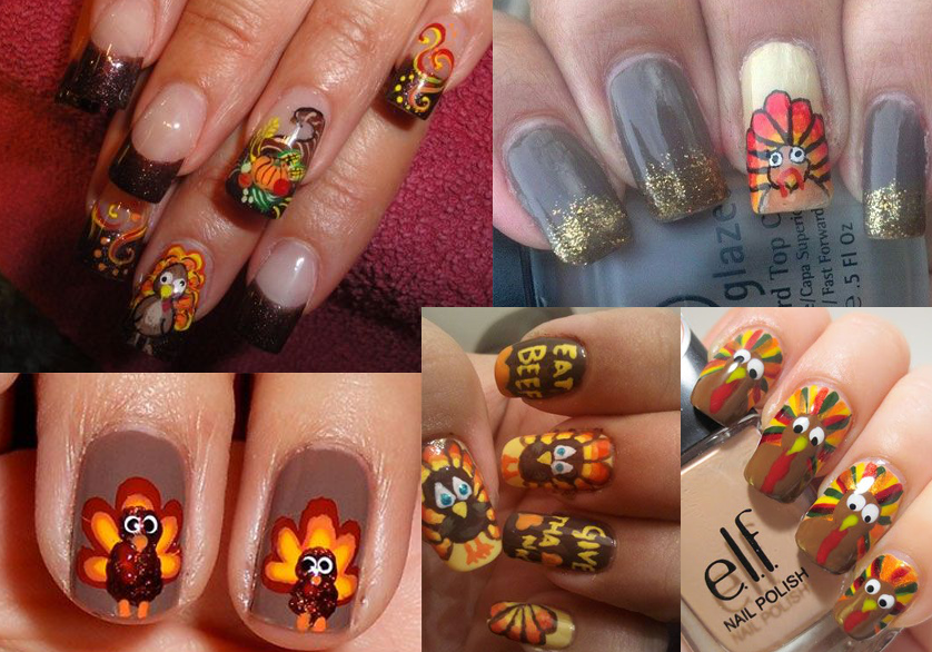 Turkey Nail Art Design