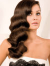 Vintage Waves Wedding Hairstyle