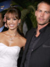 Paul Walker with Jessica Alba