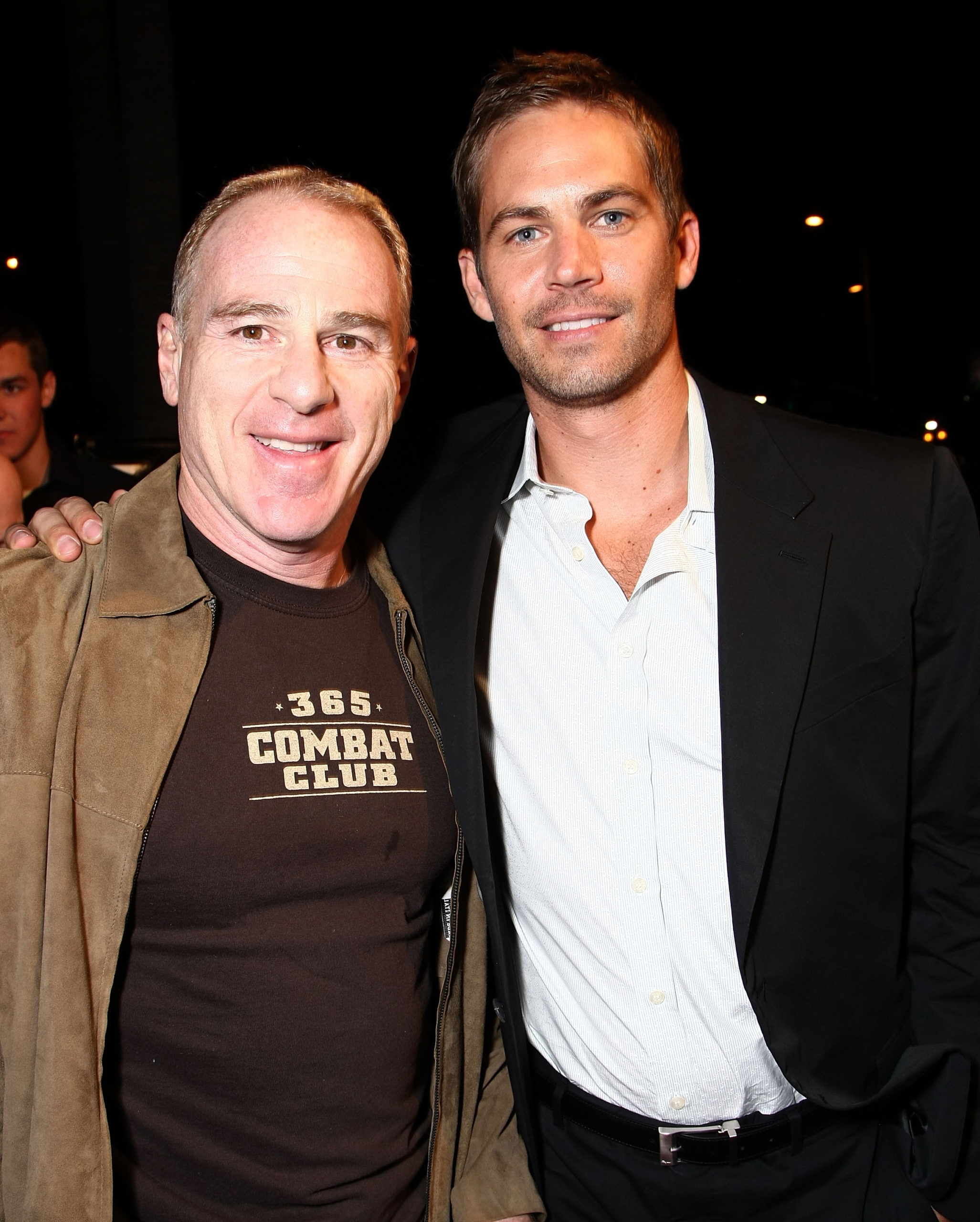 Paul Walker and David Zelon