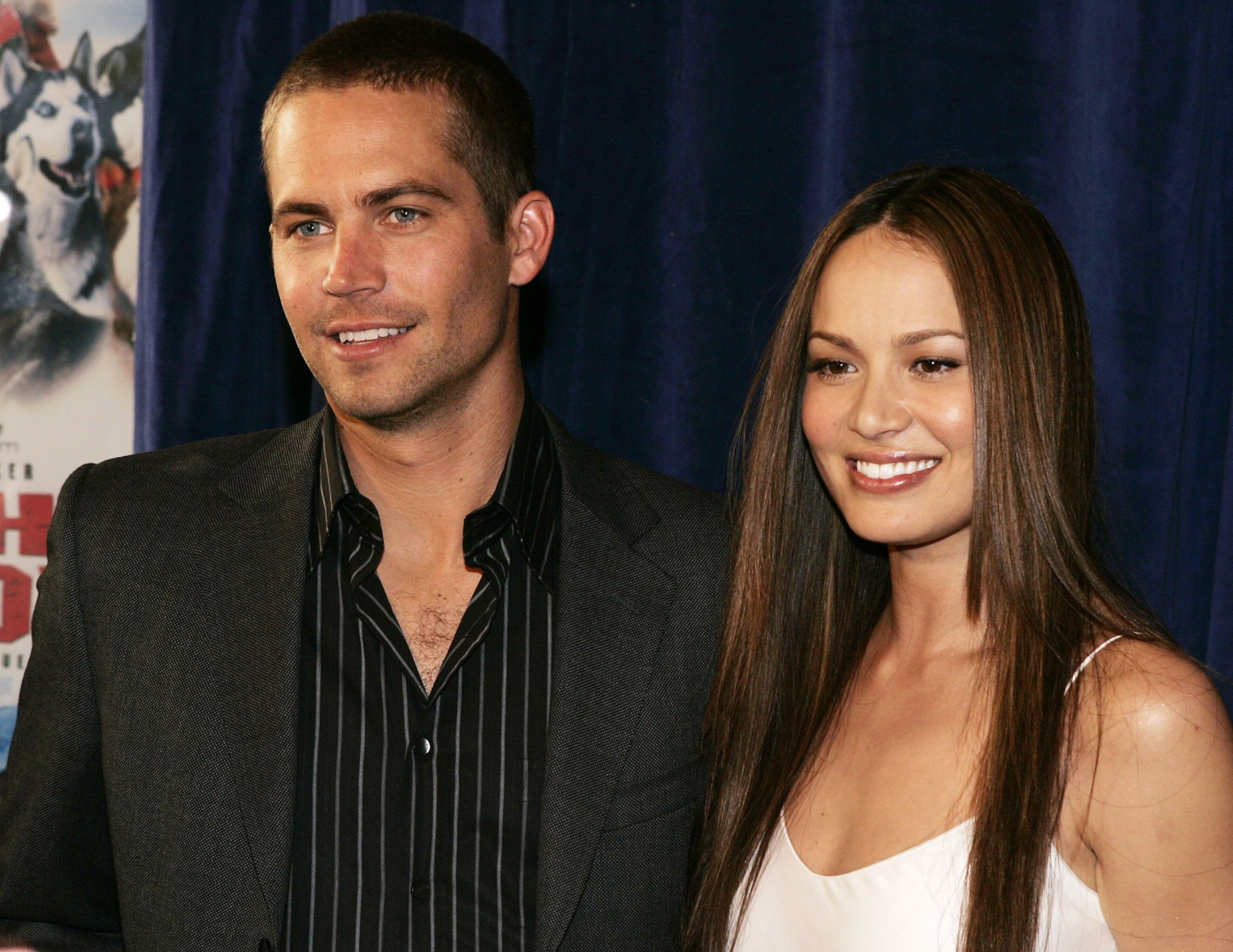Paul Walker and Moon Bloodgood