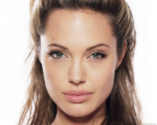 Angelina Jolie Beauty Mark