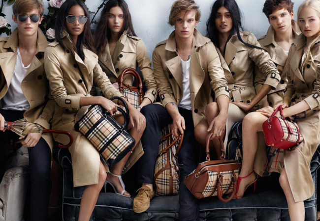 Burberry Spring 2014 Campaign