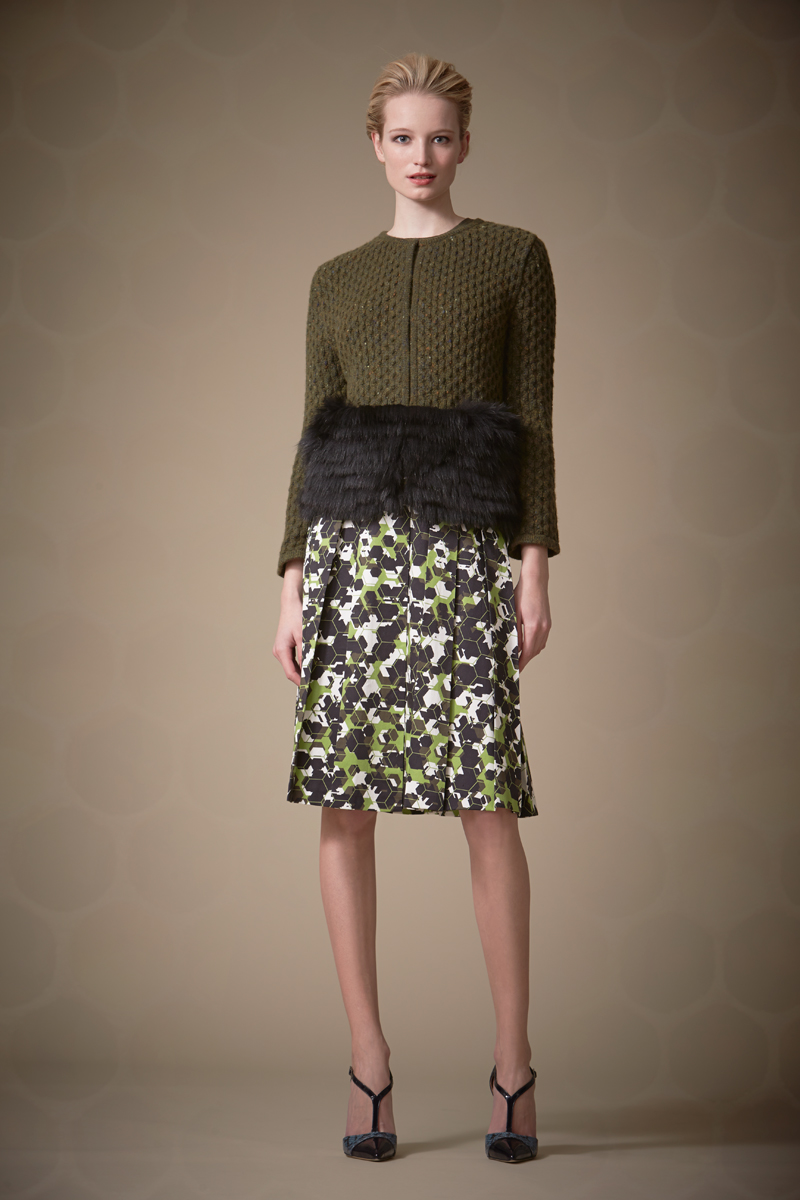 Carolina Herrera Pre Fall 2014 Look  (1)