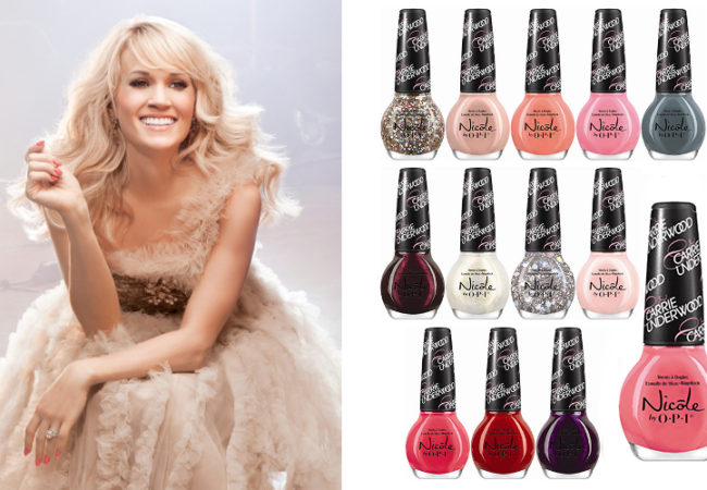 Carrie Underwood for Nicole by OPI 2014 Nail Polish Collection