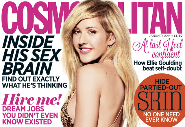 Ellie Goulding Talks Troubled Past with Cosmopolitan UK