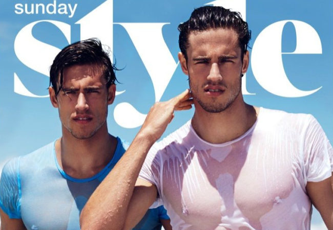 Hottest Twin Male Models